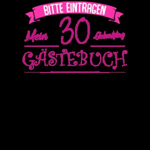 30. Geburtstag Frauen Geschenk - 30 Jahre Party Gä