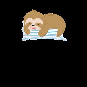 Faultier schlafen entspannen