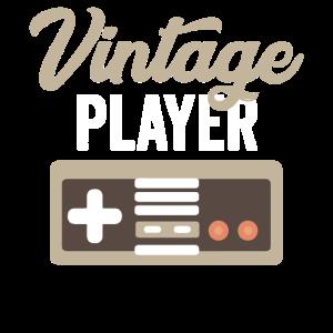 Vintage-Spieler Konsole