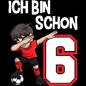 6 Geburtstag Fussball Jungen 6 Jahre Fussballer