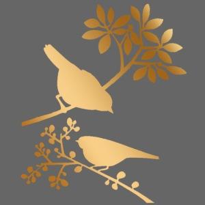 vogeltjes goud