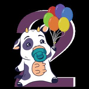2. Geburtstag 2 Jahre Geschenk