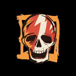 Old School Skull