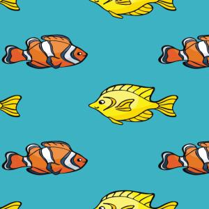Clownfisch Muster