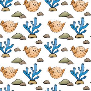 Unterwasser Muster