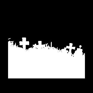 Halloween Shirt, Friedhof