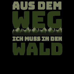 Förster & Waldarbeiter - Ich muss in den Wald