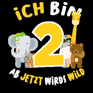 Kinder 2. Geburtstag Zoo Kind 2 Jahre Geschenk
