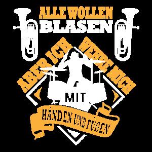Schlagzeuger Blaskapelle Blasmusik
