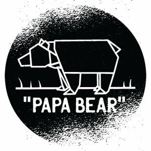 Papa Bear Design für Väter, Papas und Daddies