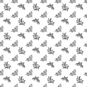 Muster schwarz weiss Blumen