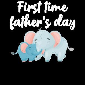 Zum ersten Mal Vatertag