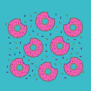 Donuts Donut Muster Cookie Cookies Süß Süßigkeiten