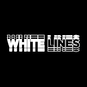 Weiße Linien
