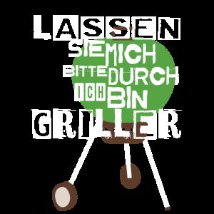 LASSEN SIE MICH BITTE GRILLEN