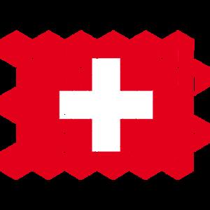 Switzerland National Flag - cubes
