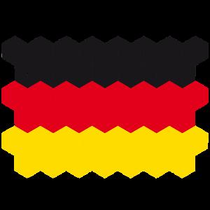 Germany National Flag - cube