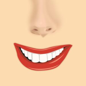 Mund Nase Gesicht