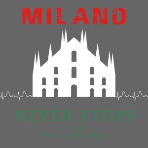 MILAN NEVER STOPS T-SHIRT