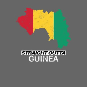 Straight Outta Guinea country map