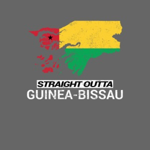 Straight Outta Guinea-Bissau country map