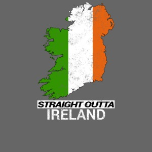 Straight Outta Ireland (Eire) country map flag