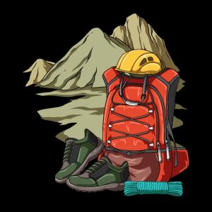 Wander und Kletterausrüstung - Backpacker