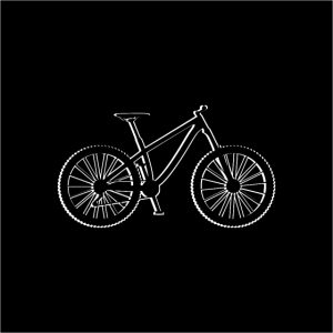 Fahrrad - Mountainbike - Bike - Gesichtsmaske
