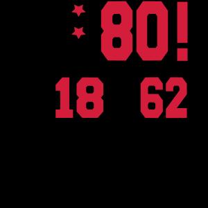 Geburtstag 80