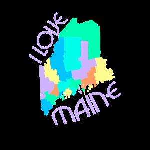 USA Staat: Maine