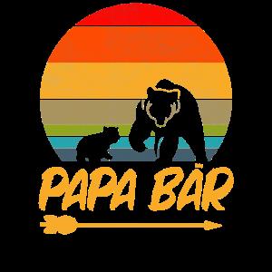 Papa Bär Vatertag Geburtstag Geschenk Geschenke