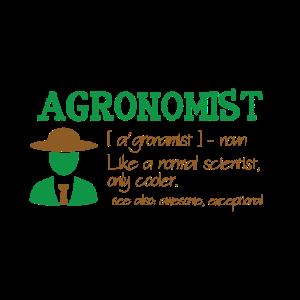 Cooler Agrarwissenschaftler