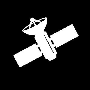 Satellit Weltraum Umlaufbahn Geschenkidee