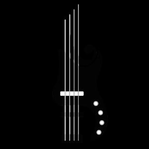 Bass Lover   Bass   Schwarz