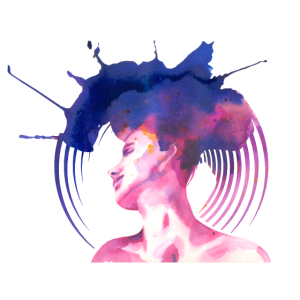 Aquarell Op Art 2
