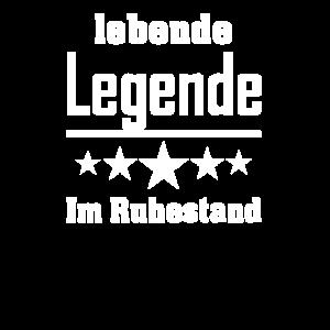 Lebende Legende im Ruhestand