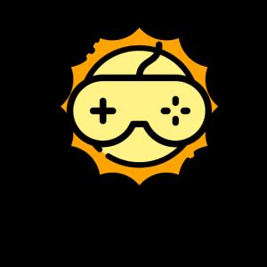 Gamershirt Sonne mit Controller