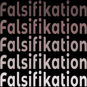 FALSIFIKATION WISSENSCHAFT THEORIEN WIDERLEGUNG