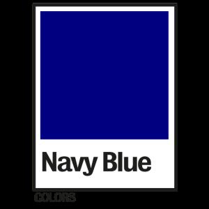 COLORS Navy blue