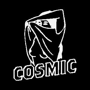 kosmische sexy Frau ausziehen