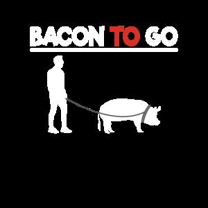 Grillen Bacon to Go lustig Griller BBQ Geschenk