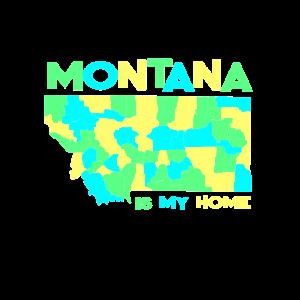 USA Staat: Montana