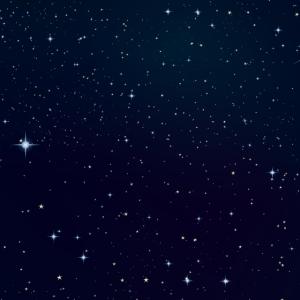 Galaxie blauer Nacht Himmel Sterne Milchstraße