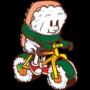 Sushi Biker Rollen Cycling