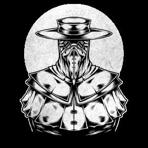 Pestdoktor Pestarzt Arzt Schnabelmaske