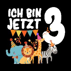 Kinder & Zoo 3.Geburtstagsfeier - 3 Jahre alt