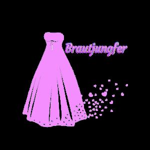 Brautjungfer Verlobung Hochzeit Jungges. Abschied