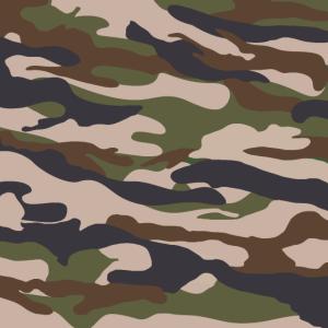 Camouflage Gruen Braun Beige personalisierbar