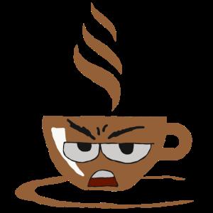 ohne Kaffee Morgenmuffel langschläfer