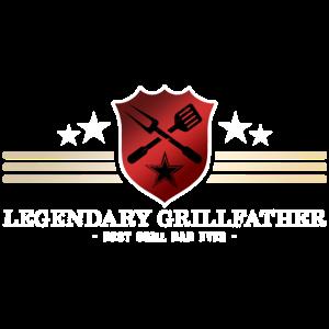 Legendärer Grillmeister - Bester Grill Vater